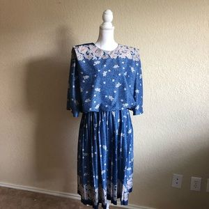 M.C.S vintage dress